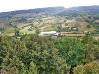 Ausblick vom Tufffelsen in Orvieto