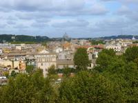 Rom (Ausblick vom Aventino-Hügel)