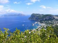 Ausblicke von Anacapri (Marina Grande)