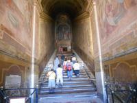 Rom (Heilige Treppe zur Kapelle Sancta Sanctorum)