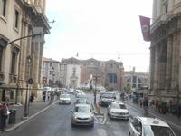 Rom (Via Cavour - Blick zur Piazza della Repubblica)