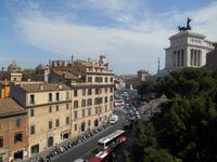 Rom (Ausblick vom Kapitol-Hügel)
