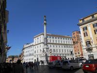 Rom (Piazza di Spagna - Säule der Unbefleckten Empfängnis)