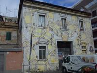 Häuser entlang der Via Ostiense