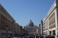 Blick auf Petersplatz