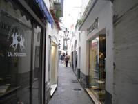 Gassen in Capri-Centrum