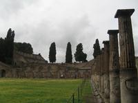 Pompeji im Regen