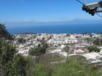 Capri Auffahrt Monte Solaro - Blick Insel Ischia