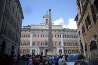 Palazzo Montecitorio (Sitz der Abgeordnetenkammer des italienischen Parlaments)