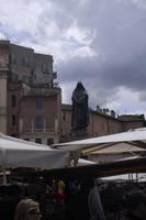 Piazza Campo di Fiori (Denkmal von Giordano Bruno)