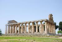 Athene-Tempel Paestum - ehemals aus christliche Kirche