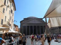 Rom (Piazza della Rotonda mit Pantheon)