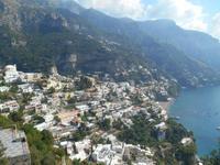 Amalfiküste (Blick auf Positano)