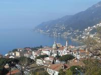 Blick auf die Amalfiküste (Vietri sul Mare)