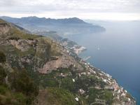 Blick über die Amalfiküste