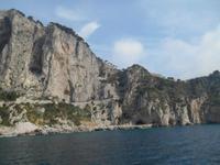 Insel Capri (Inselrundfahrt mit dem Schiff)