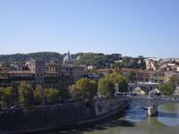 Ausblick auf den Tiber