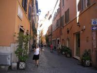 in den Gassen Roms unterwegs...