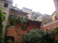 Blick in die Innenhöfe Roms