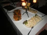 Abendessen auf der Burg Noarna