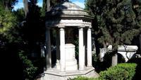 Nichtkatholischen  Friedhof-Cimitero accatolico