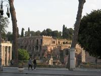 Forum Romanum Kaiserpaläste auf dem Palatin