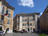 Platz vor der Kirche St. Ignazio di Loyola