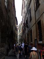 In den engen Gassen Roms