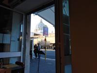 Rom, 18.10.2018 Blick aus einem Cafe