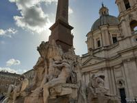 Piazza Navona. Vier-Ströme-Brunnen.