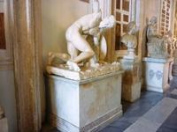 21.10., Kapitolinisches Museum, römische Kopie eines sterbenden Gladiators