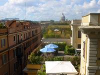 Ausblick vom Pincio-Hügel