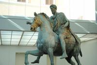 Reiterstandbild Kaiser Marc Aurel  im Kapitolinischen Museum