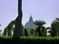 24.05.2014 Rom, Blick auf den Petersdom