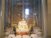 Besichtigung der Peterskirche (Pietá von Michelangelo)