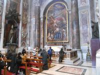 Besichtigung der Peterskirche (St.-Sebastians-Kapelle Kapelle)
