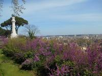 Ausblick vom Gianicolo-Hügel