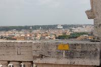 Blick von Kuppel - Villa Medici