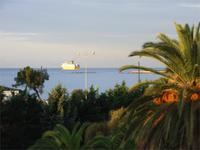 Ausblick Hotel Ajaccio