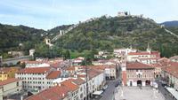 Marostica (Castello Inferiore - Ausblick vom Turm)