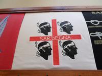 Stadtrundgang in Alghero (Sardische Flagge)