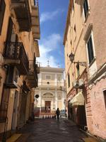 Gasse in La Maddalena