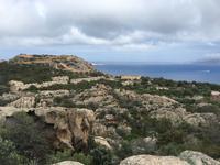 Blick auf die Festungsruinen der Nordküste