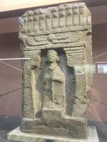 Antiker Grabstein im Archäologischen Museum