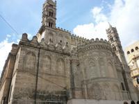 20.09. 2013 Ostfassade der Kathedrale von Palermo