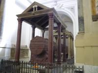 20.09.2013 Grab Friedrichs II und dahinter Roger II
