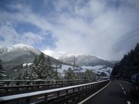 Rückfahrt über den Brennerpass