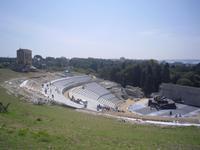Griechisches Theater in Syrakus