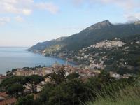 Fotostopp am Golf von Salerno