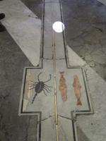 Meridian im Dom von Palermo